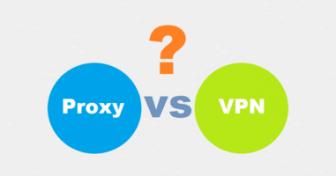وكيل البروكسيProxies  مقابل الشبكة الافتراضية الخا