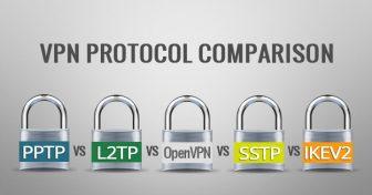 المقارنة بين بروتوكولات VPN وهي PPTP vs. L2TP vs.