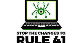 لا تسمحوا لحكومة الولايات المتحدة اختراق حواسبنا .. أوقفوا تعديلات المادة 41