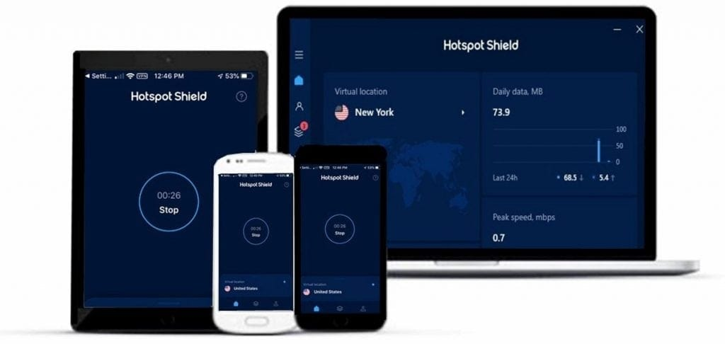 Hotspot Shield devices
