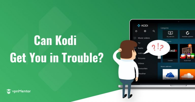can kodi get you in trouble
