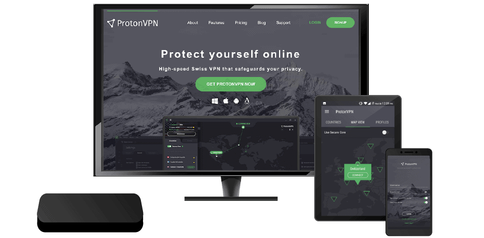 ProtonVPN devices