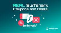 قسيمة Surfshark 2021: وفر 85% مع هذا الخصم الحصري!